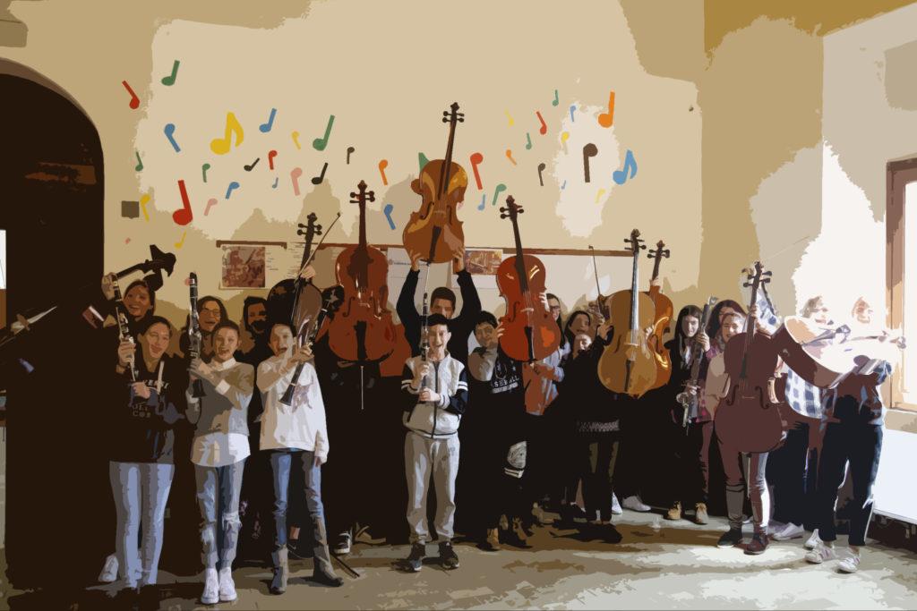 workshop clarinetti e violoncelli