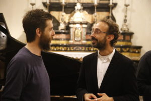 Il vincitore Fabrizio Volpi ed il Presidente Stefano Spitale