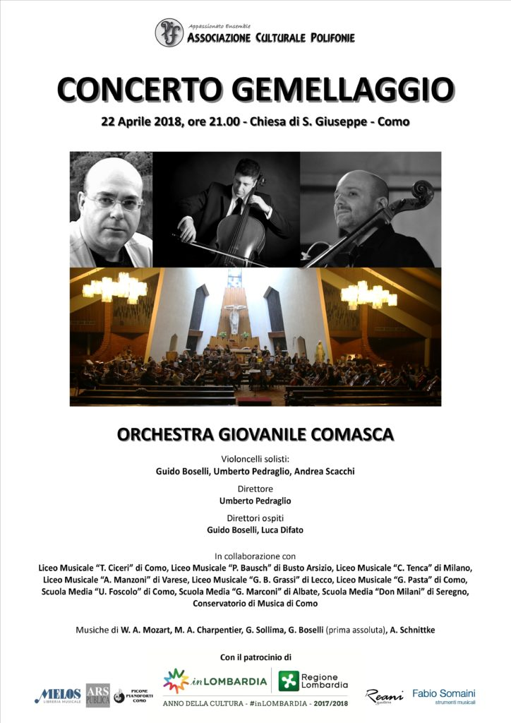 Manifesto Concerto Gemellaggio 2018