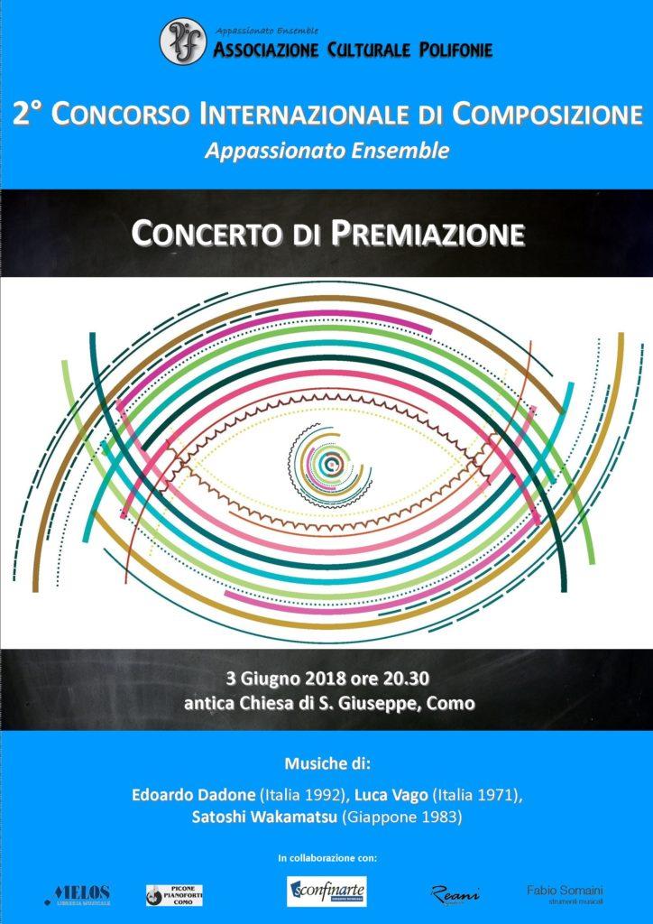 Concerto di Premiazione 2018